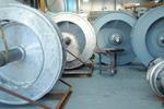 balancing fan impellers